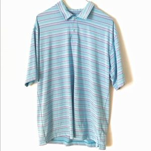 Nike Golf Fit Dry Striped Polo